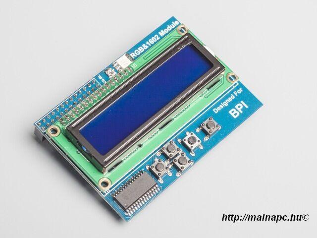 Banana Pi LCD1602 display modul