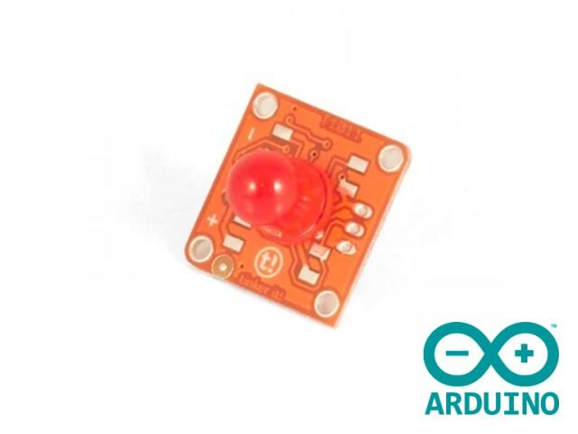 TinkerKit Red LED 10mm - T010118