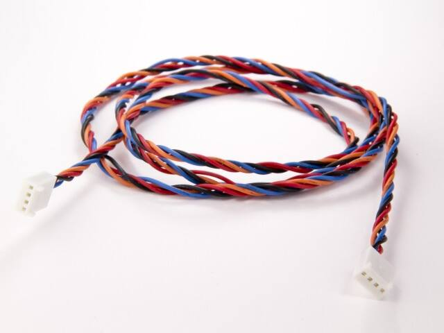 TinkerKit 4 pin Wires 105cm - T020180