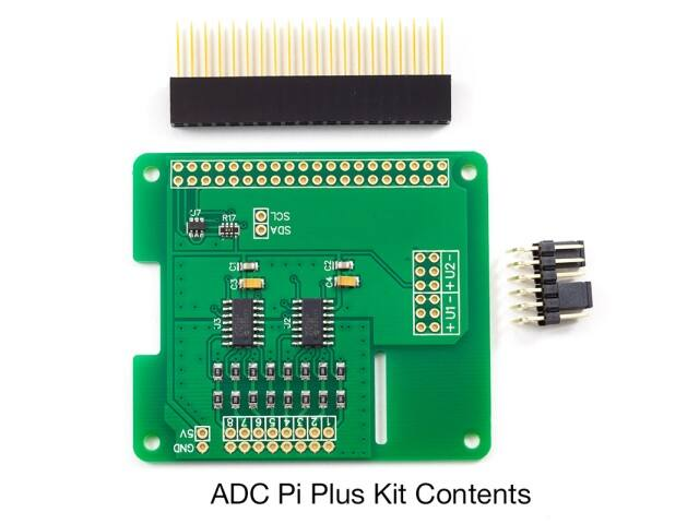 ADC Pi Plus Kit
