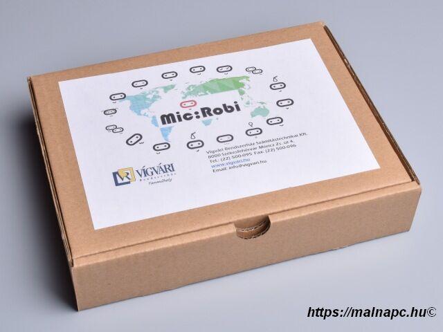 Mic:Robi - BBC micro:bit vezérelt magyar oktató robot