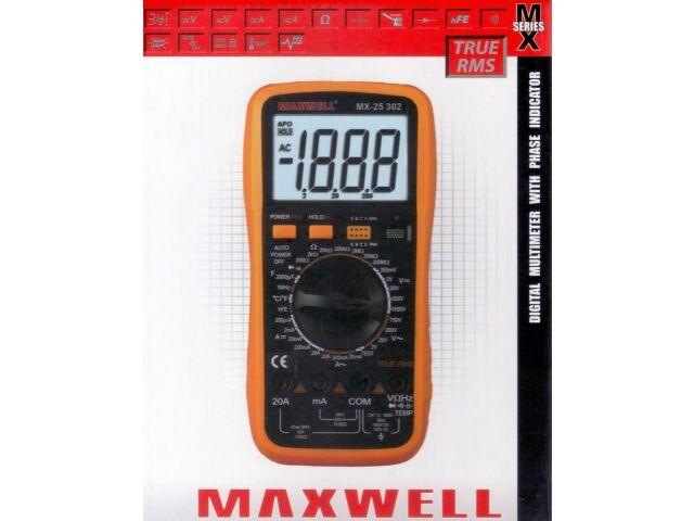 Kéziműszer MX25302 Digit műszer T RMS (1000V 20A)