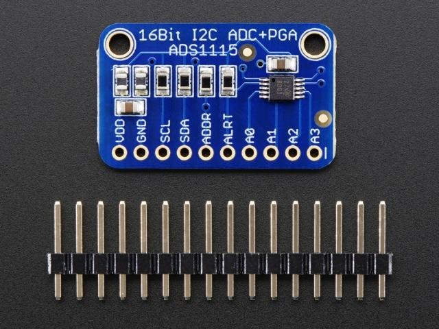 A1085 ADS1115 16-Bit 4-csatornás I2C ADC+PGA