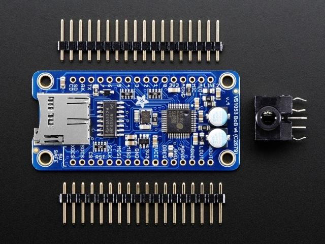A1381 VS1053 audio codec v4 - MP3/WAV/MIDI/OGG Play+Rec