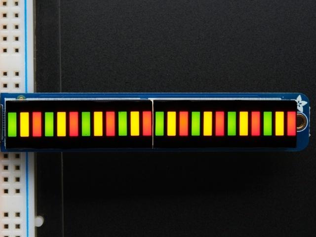 A1721 Bi-color(Red/Green) 24-Bar w/I2C Kit