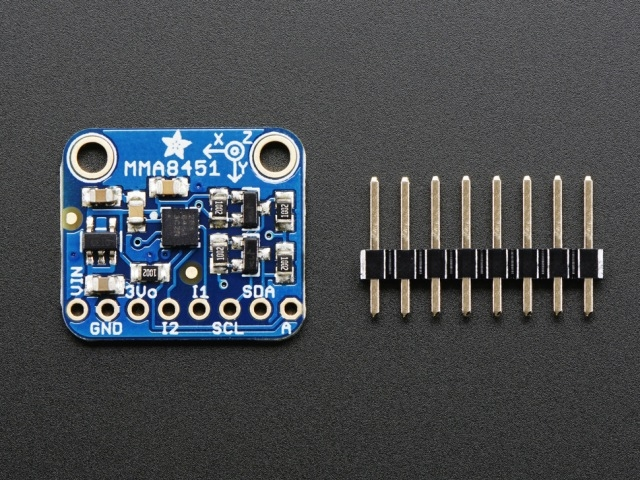 A2019 Triple-Axis Accelerometer - 2/4/8g @ 14-bit - MMA8451