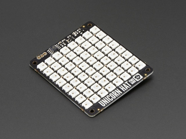 A2288 Pimoroni Unicorn HAT 8x8 RGB LED shield for PI