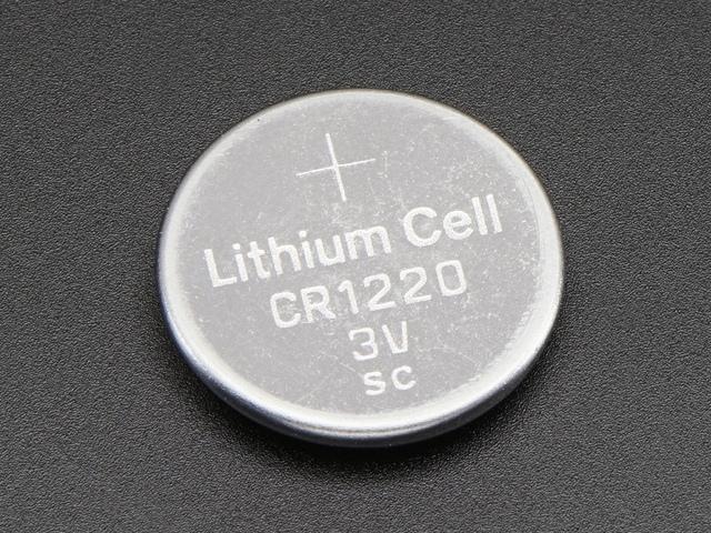 A380 CR1220 Lítium gombelem / Lithium coin cell 3V