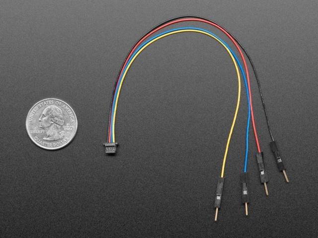 STEMMA QT / Qwiic JST SH 4-pin papa Jumper kábel 150mm