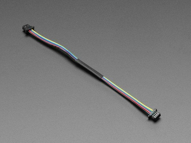 A4210 STEMMA QT / Qwiic JST SH 4-pin Cable - 100mm Long