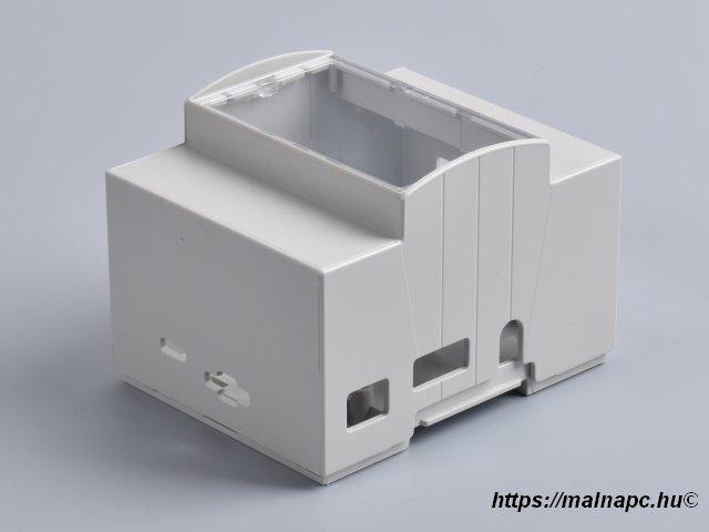 Ipari doboz DIN sínre Raspberry Pi B+, Pi2, Pi3 alaplaphoz