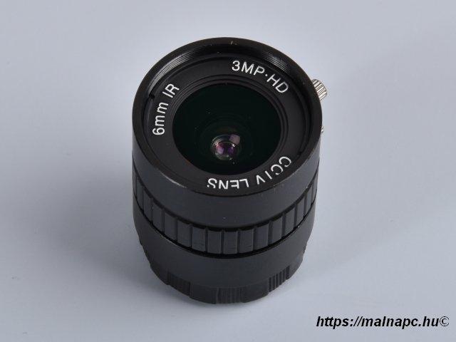 PT361060M3MP12 6mm, 3MP optika Raspberry Pi HQ kamerához