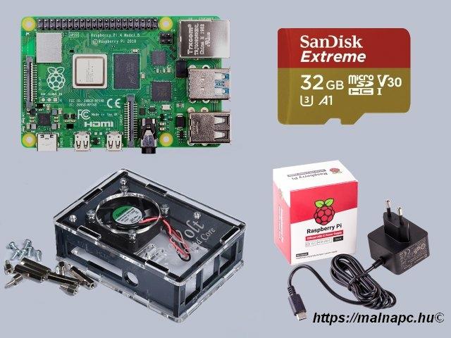 Revolt Pi 4 Extreme kit 8GB - grey