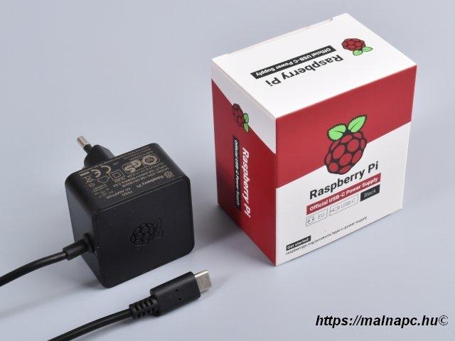 Raspberry Pi 4 official tápegység