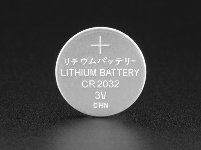 A654 CR2032 Lithium elem