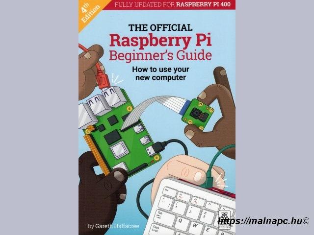 Raspberry Pi Beginner's Guide könyv borítója