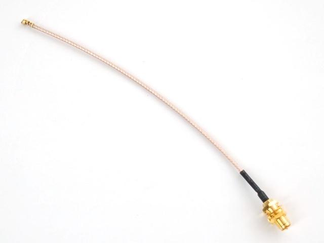 A852 RP-SMA / uFL/u.FL/IPX/IPEX RF átalakító kábel
