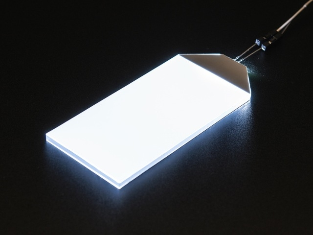 A1621 White LED Backlight Module - 45mm x 86mm