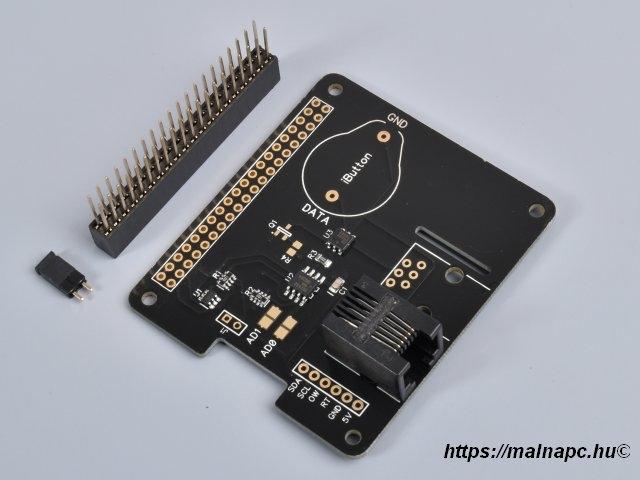 1 Wire Pi Plus Raspberry Pi panelekhez