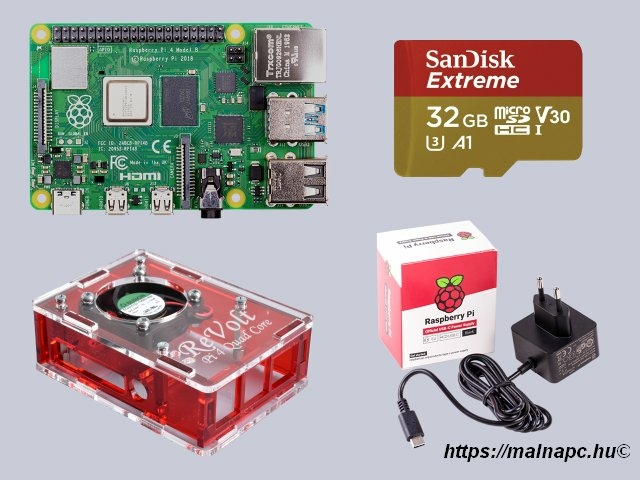 Revolt Pi 4 Extreme kit 8GB alaplappal