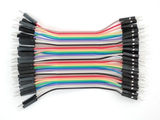 A759 Prémium jumper kábel 75mm papa-papa