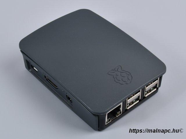Raspberry Pi 3 official feketedoboz