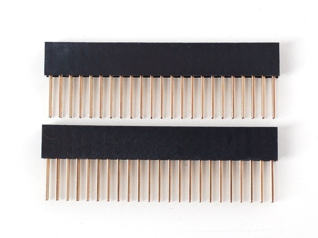 A706 Stacking Header Set for Beagle Bone Capes (2x23)