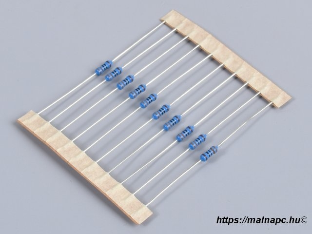 Breadboard resistor csomag
