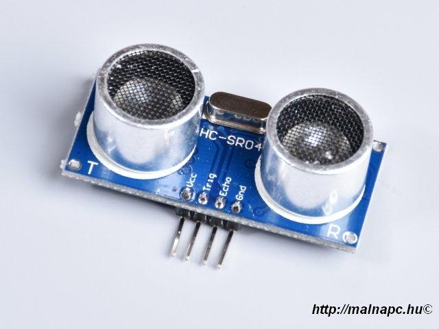Ultrahangos távolságszenzor HC-SR04-4P